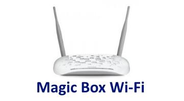 Magic Box per connessioni Wi-Fi